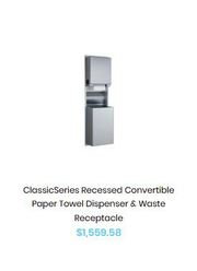 Reduce wastage with our range of smart paper towel dispensers