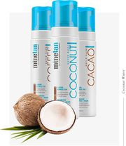 Coconut water skin tanning services