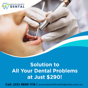 Keep Up Your Dental Health with General Dentists in Box Hill